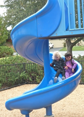 at play in Sharon Park