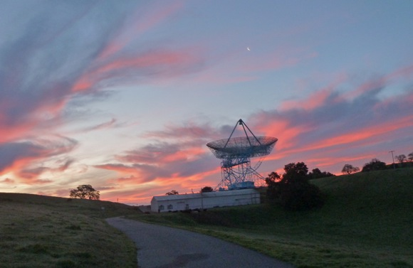 sunrise at Big Dish March 2011
