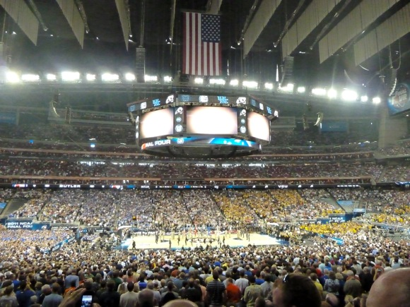 NCAA Final Four at Relaint Stadium in Houston