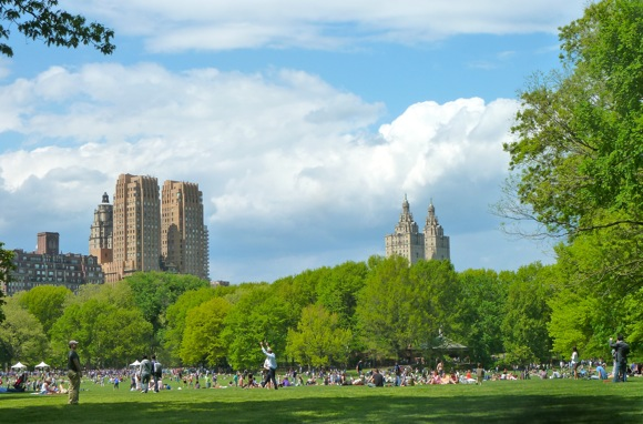 Central Park, May 2011