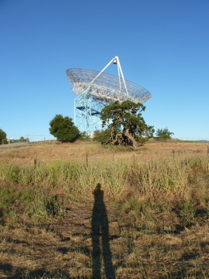 Big Dish shortly after dawn on a warm morning
