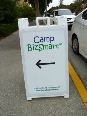 Camp BizSmart on Stanford campus