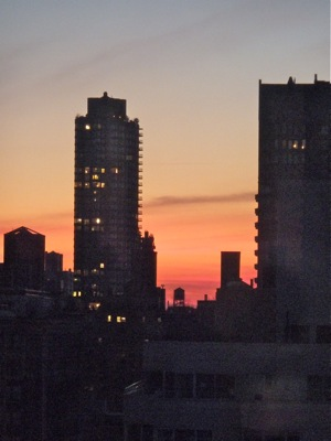Sunrise in New York, Dec 2011