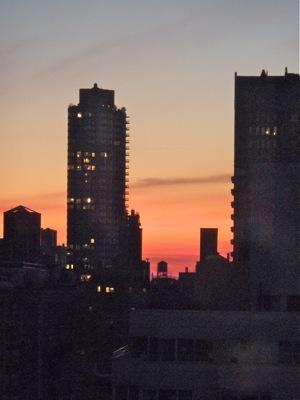 Sunrise in New York, Dec 2011